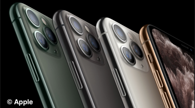 Die Kameras des iPhone 11 Pro ©Apple
