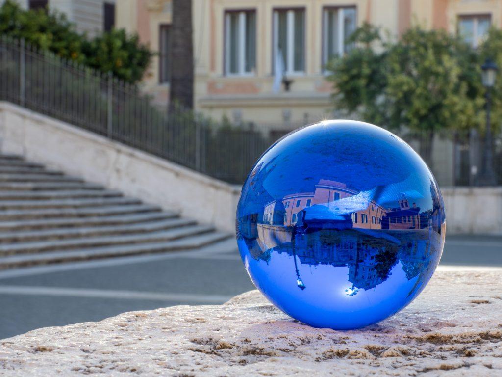 Rollei Lensball in Blau