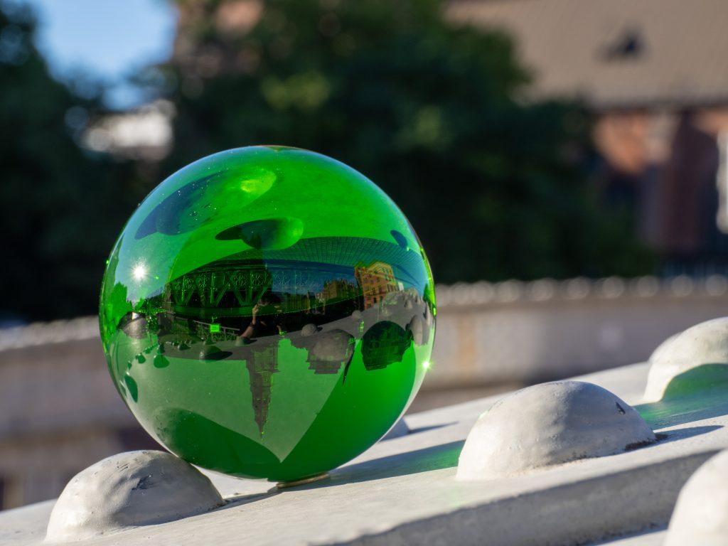 Rollei Lensball in Grün