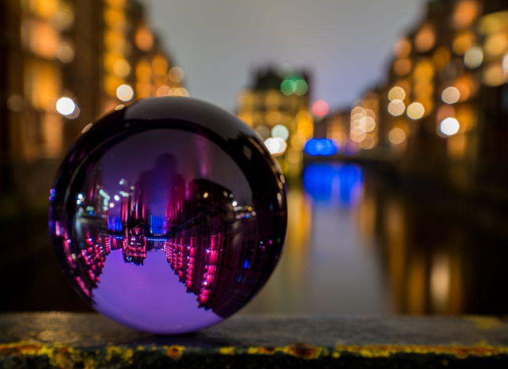 Rollei Lensball in Purple