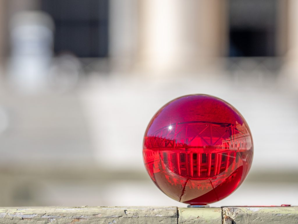 Rollei Lensball in Rot