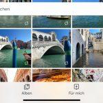 Google Fotos auf einem iPhone 11 Pro